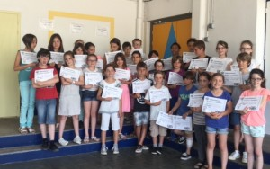 Remise diplome A1 CM2